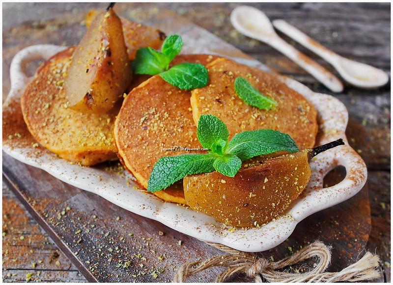...pumpkin pancakes spiced pear_1