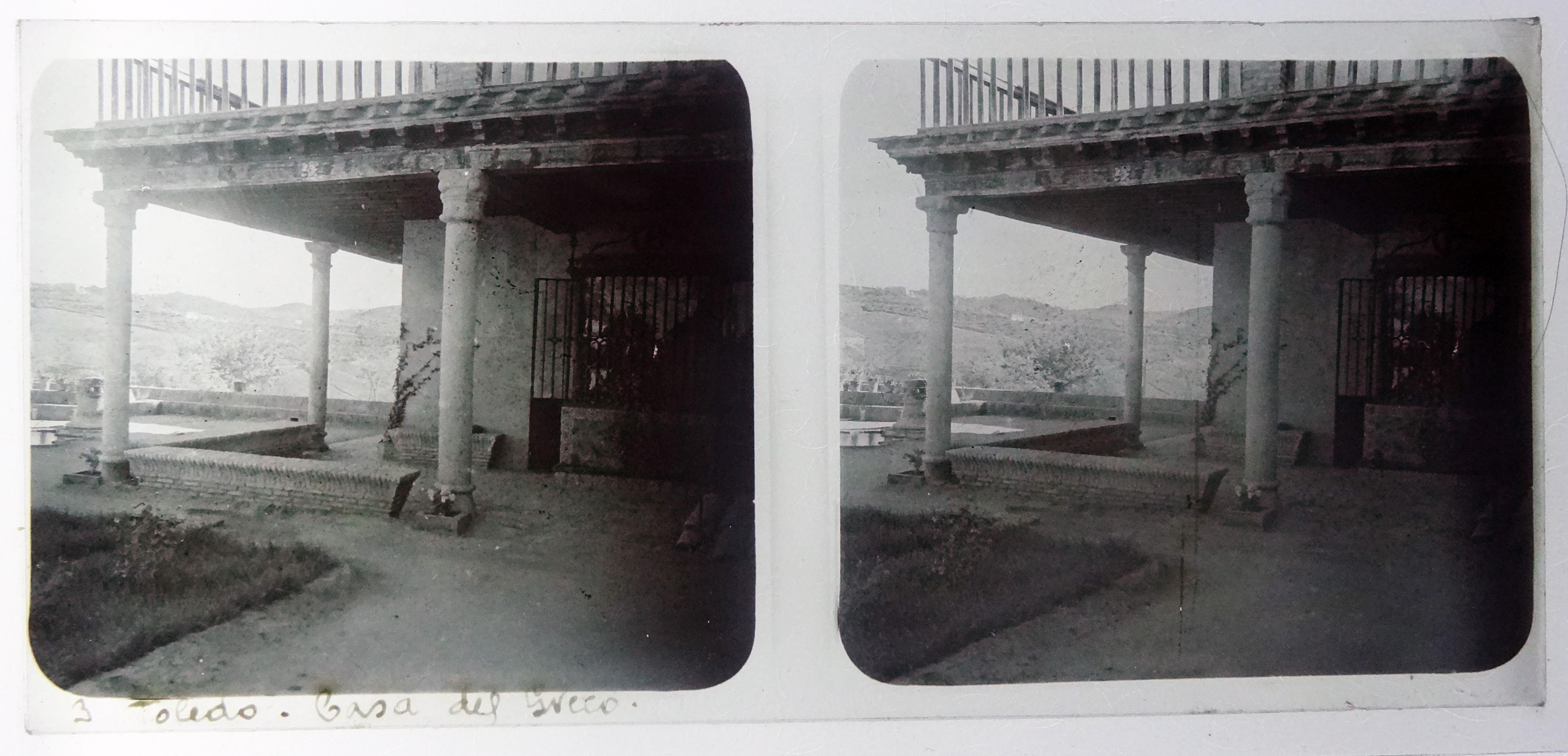 Casa del Greco. Fotografía de Francisco Rodríguez Avial hacia 1910 © Herederos de Francisco Rodríguez Avial