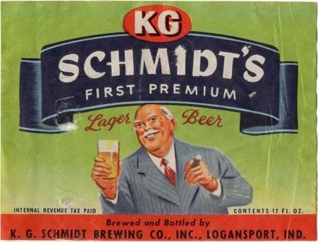 KG-Schmidts-Lager-Beer--Labels-KG-Schmidt-Brewing-Company