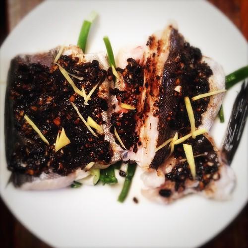 black bean garlic sauce, Black Bean Sauce, chinese, classic, recipe, steamed fish, traditional, 蒸魚, 豉汁, 蒜蓉豆豉醬