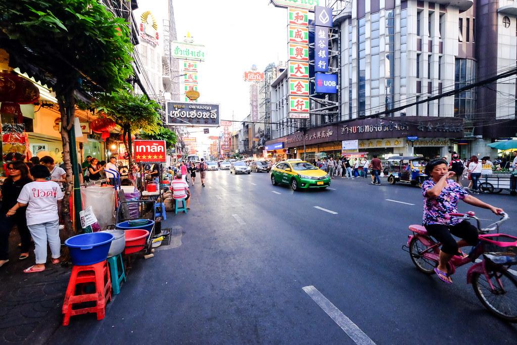 Yaowarat Road, Chinatown Bangkok