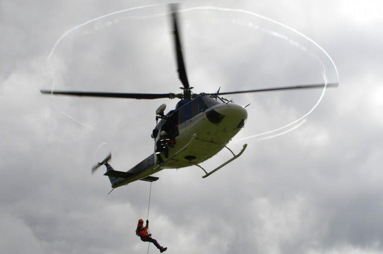 Když u vás chce přistát vrtulník
