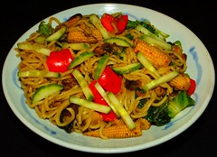 Smoked Mussel Chow Mein