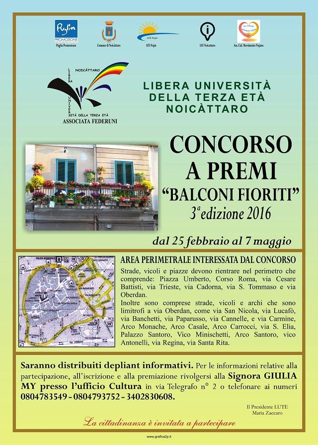 Noicattaro. Balconi Fioriti 2016 intero 1