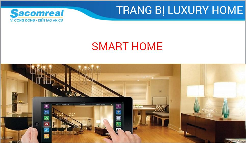Trang bị nhà thông minh của căn hộ Luxury Home quận 7