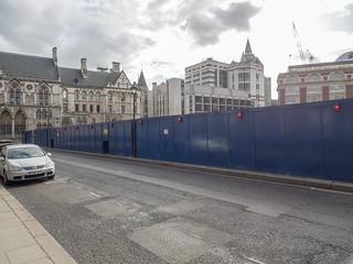 Immagine di Royal Courts of Justice vicino a Londra. london buildingsite royalcourtsofjustice