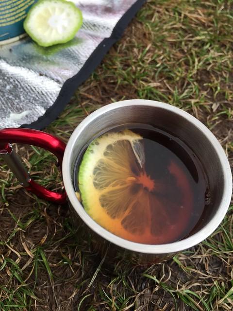 新鮮檸檬紅茶是哪招?