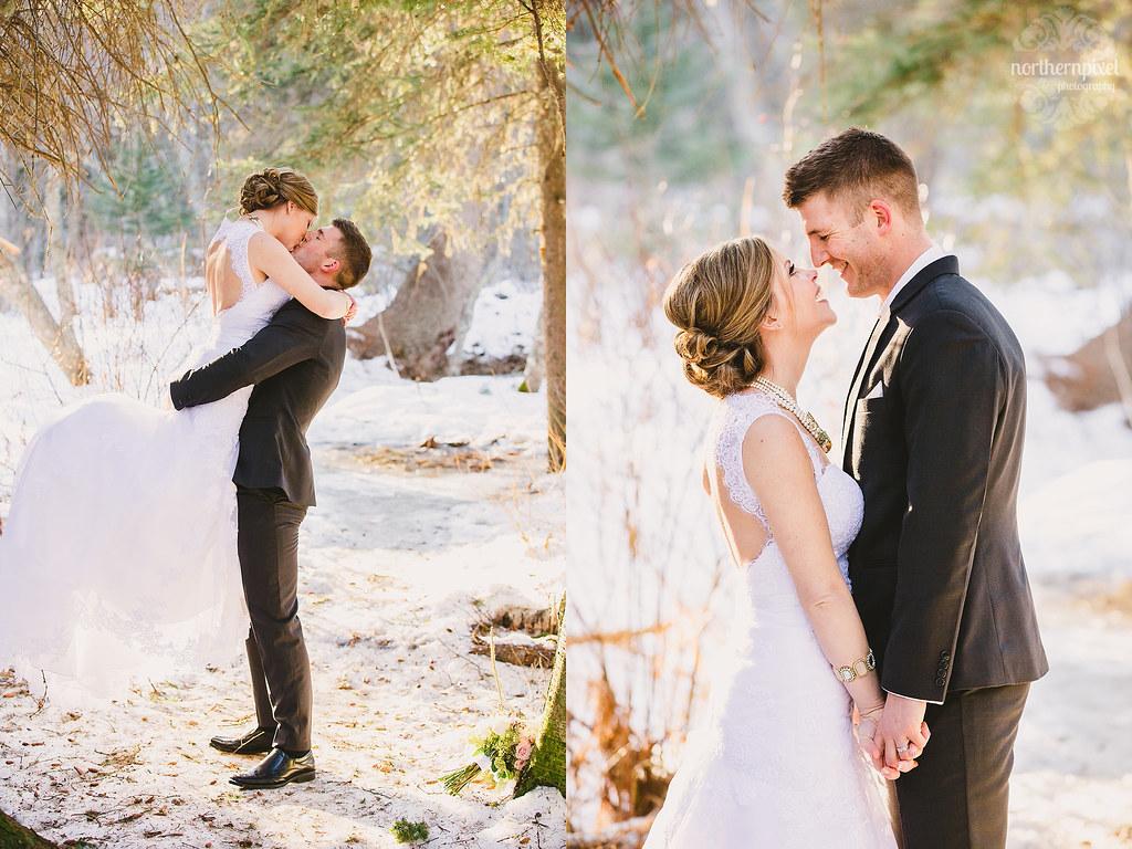 Newlyweds - Prince George BC Wedding