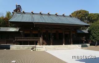 宮崎神宮の本殿1