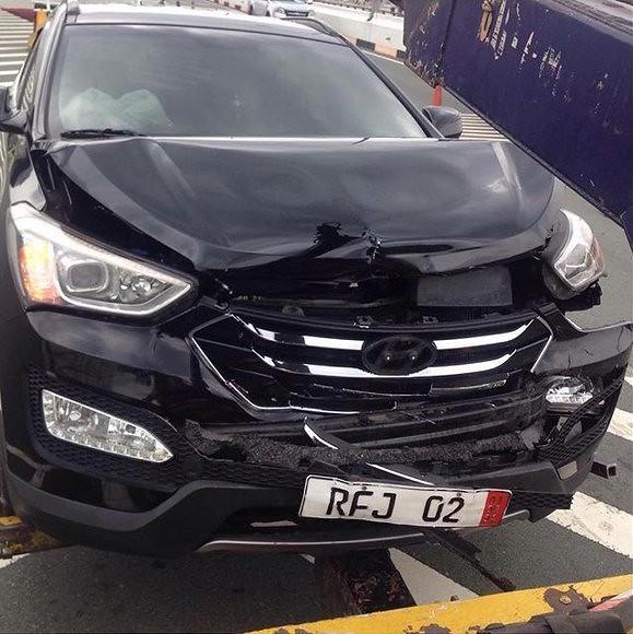Alden car accident