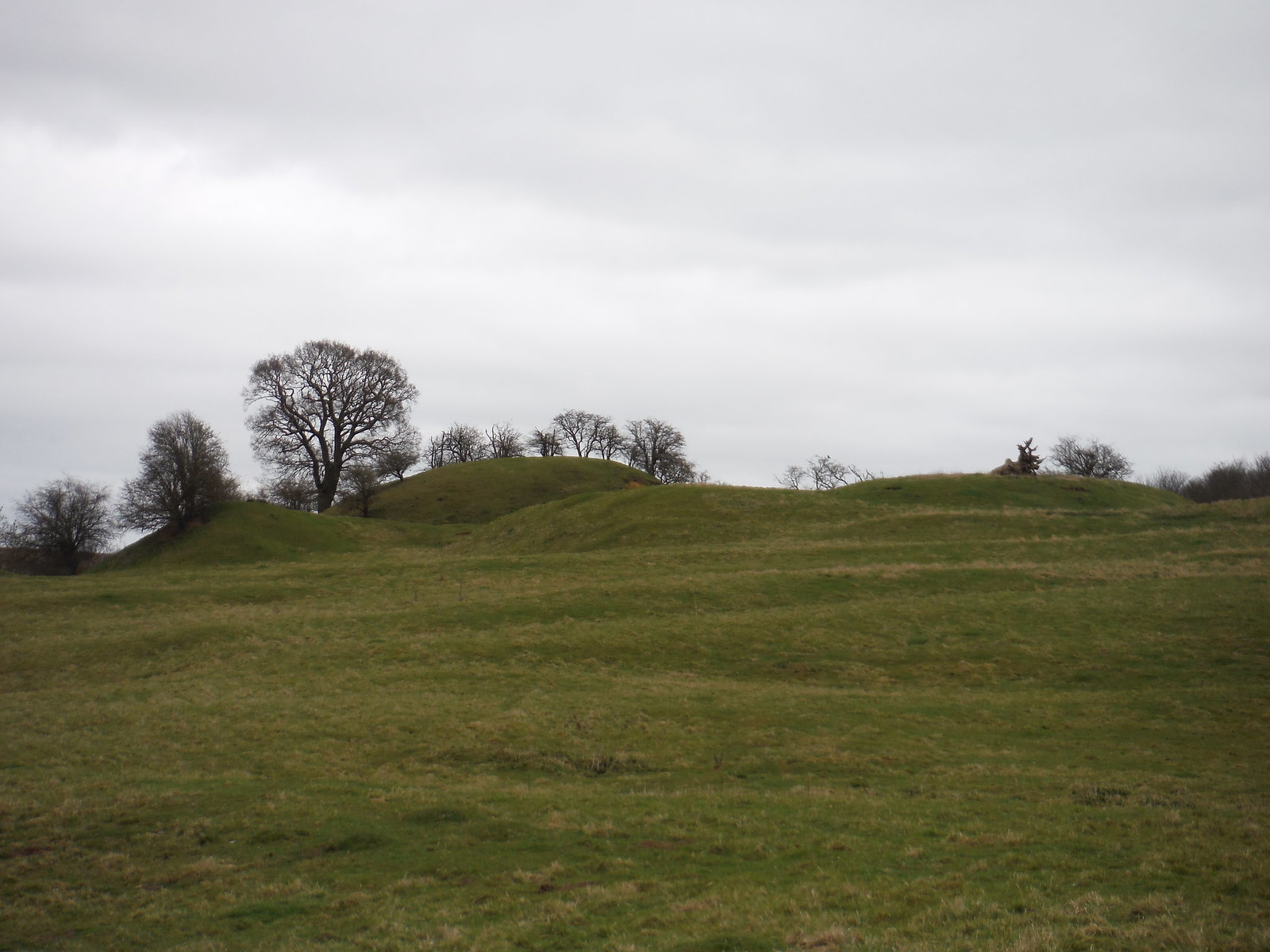 Former Site of Cainhoe Castle, Clophill SWC Walk 231 Flitwick Circular