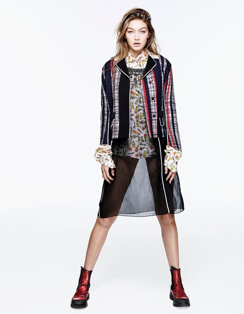 Джиджи Хадид — Фотосессия для «Vogue» CH 2016 – 13