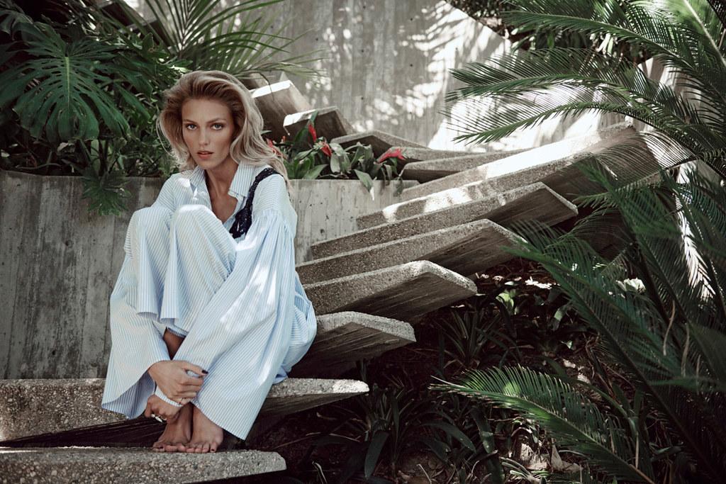 Аня Рубик — Фотосессия для «Viva Moda» 2016 – 1
