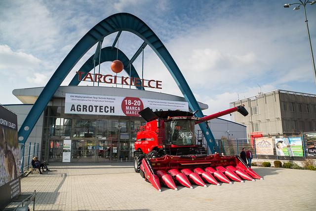 XXI Międzynarodowe Targi Techniki Rolniczej AGROTECH - KIELCE marzec 2016