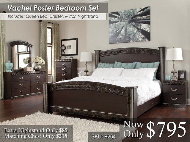 Vachel Poster Bed Set