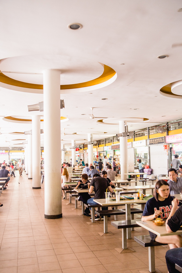 Tiong Bahru Hawker Centre Singapore