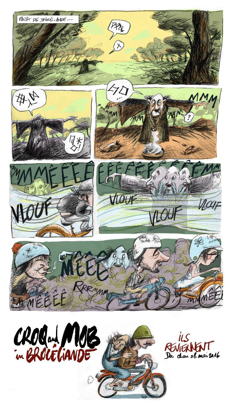 Croq and Mob: ça repart