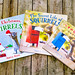 Watch for these as board books for littlest kids in the fall by Nancy Rose