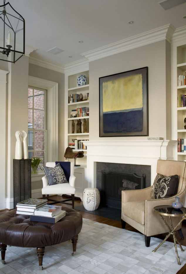 Benjamin Moore Edgecomb Gray Paint | Neutral Home Decor Inspiration | Living Room Decorating Ideas