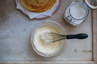 Bolo Crepe de Goiabada com Cobertura de Cream Cheese