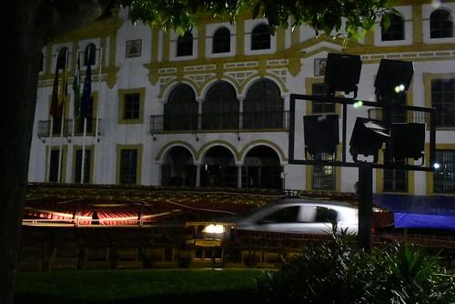 La hora del planeta, apagón fachada del Ayuntamiento