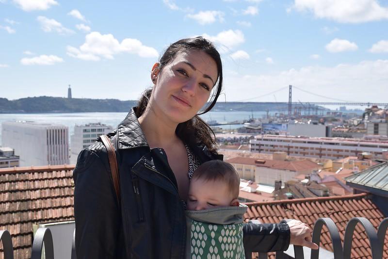 Con Eva en Lisboa