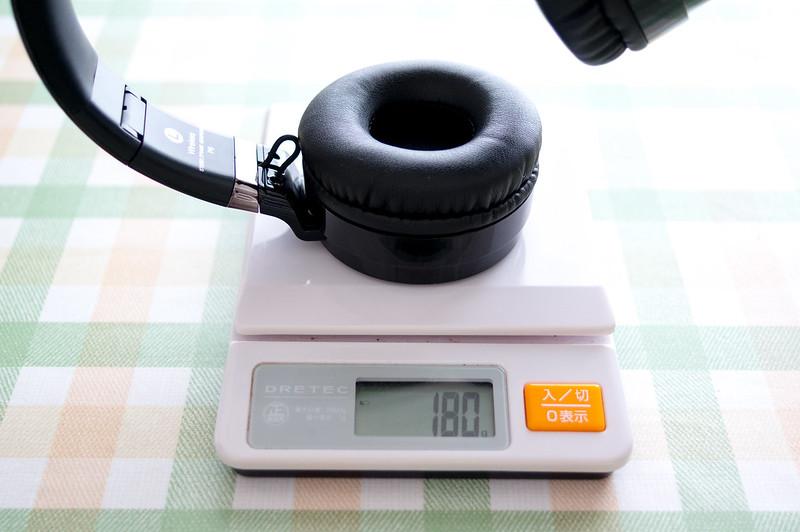 Sound Intone P6、重量実測