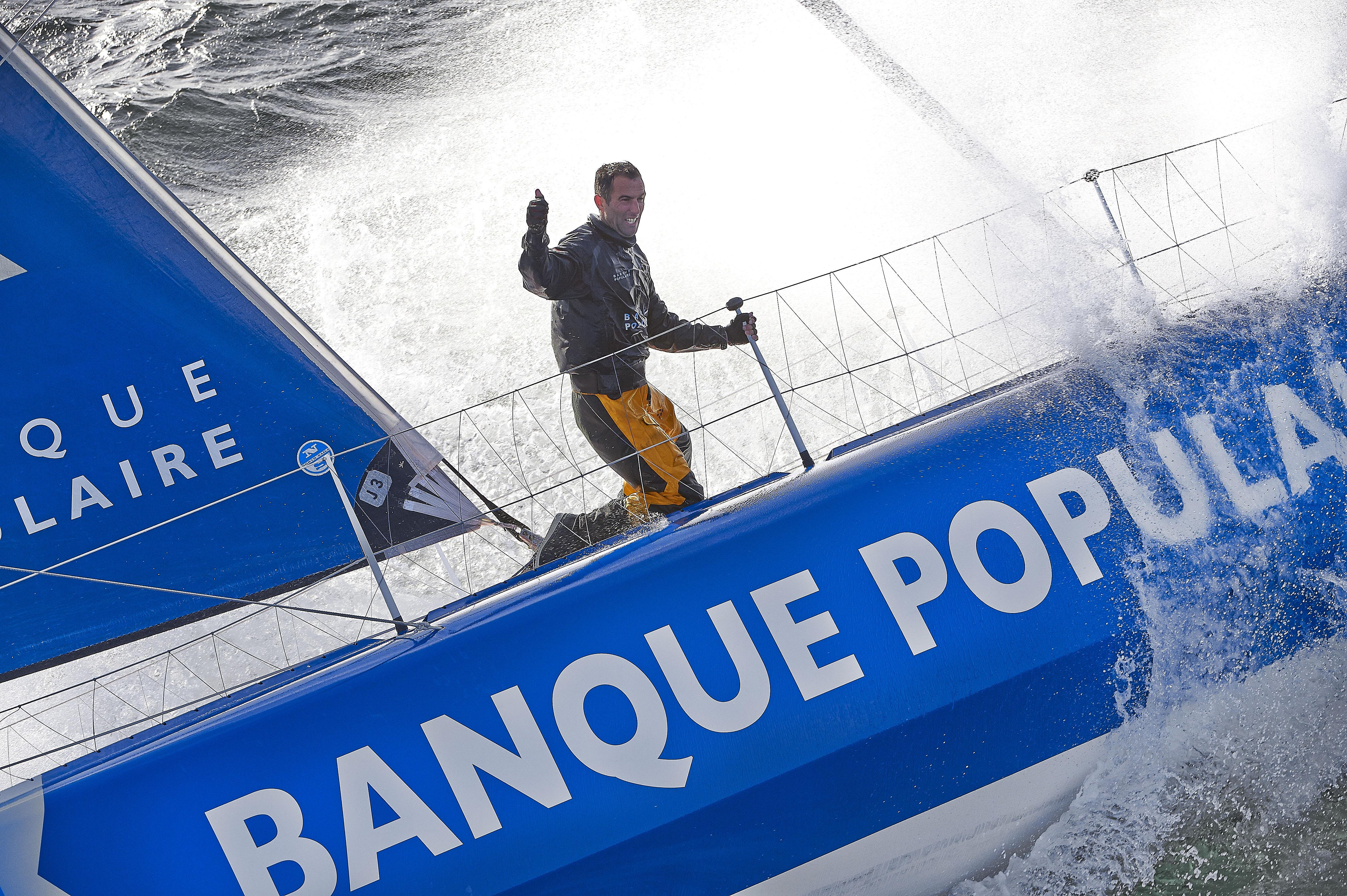 Mono Banque Populaire VIII - The Transat 2016 - crédit Y.Zedda-BPCE (61)