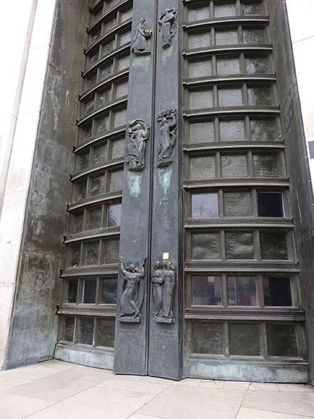porte du palais de Tokyo