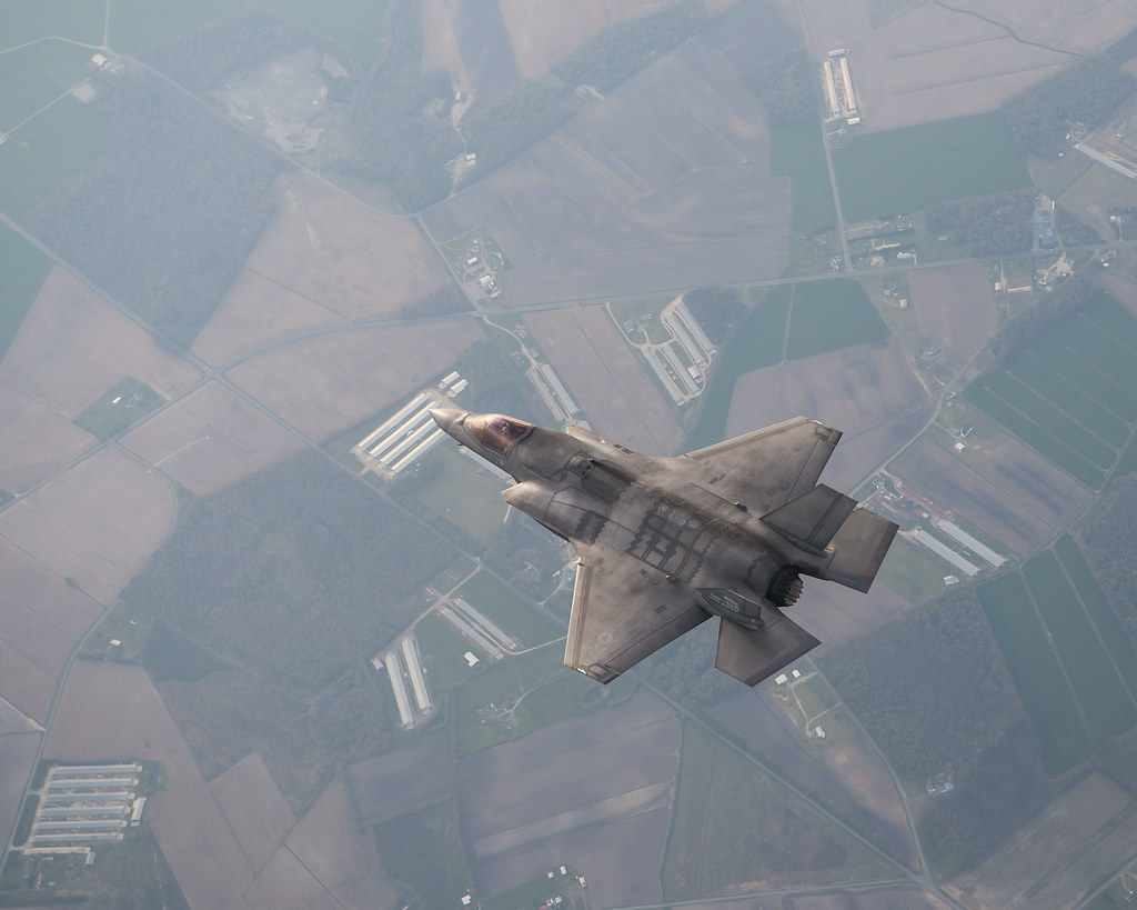 F-35B Near NAS Patuxent River, Maryland