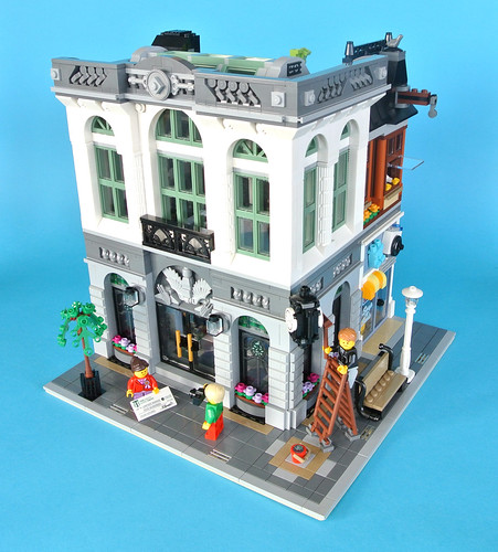 Review: 10251 Brick Bank | Brickset: LEGO set guide and database