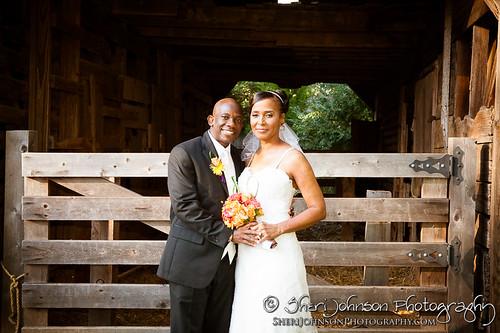 Marcia & Bryan Weddding