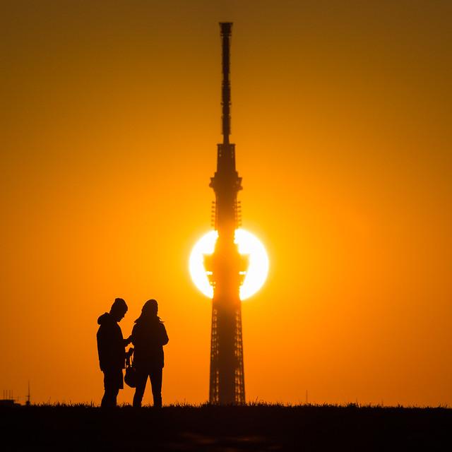 20160111_04_Sunset and Tokyo Sky Tree
