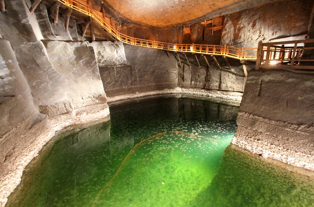 UNESCO World Heritage, largest salt mine in the world near Kráków, Poland
