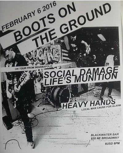 2/7/16 SocialDamage/LifesMunition/Franky/HeavyHands
