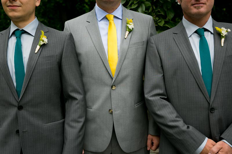 NYC park wedding with a yellow dress as seen on @offbeatbride #weddings #yellowdress