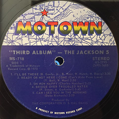 JACKSON 5:THIRD ALBUM(LABEL SIDE-A)