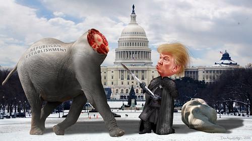 Lord Commander Trump Decapitates the Establishment Republicans