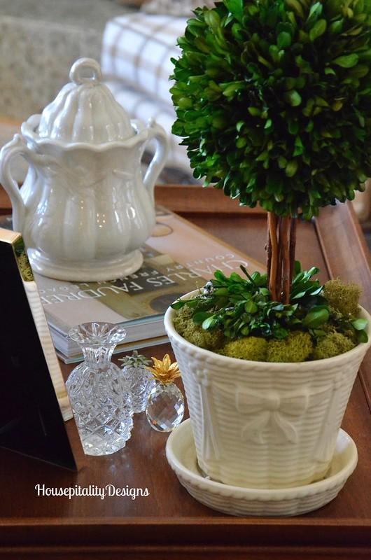 Ironstone Sugar Bowl - Housepitality Designs