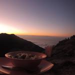 Cena con vistas