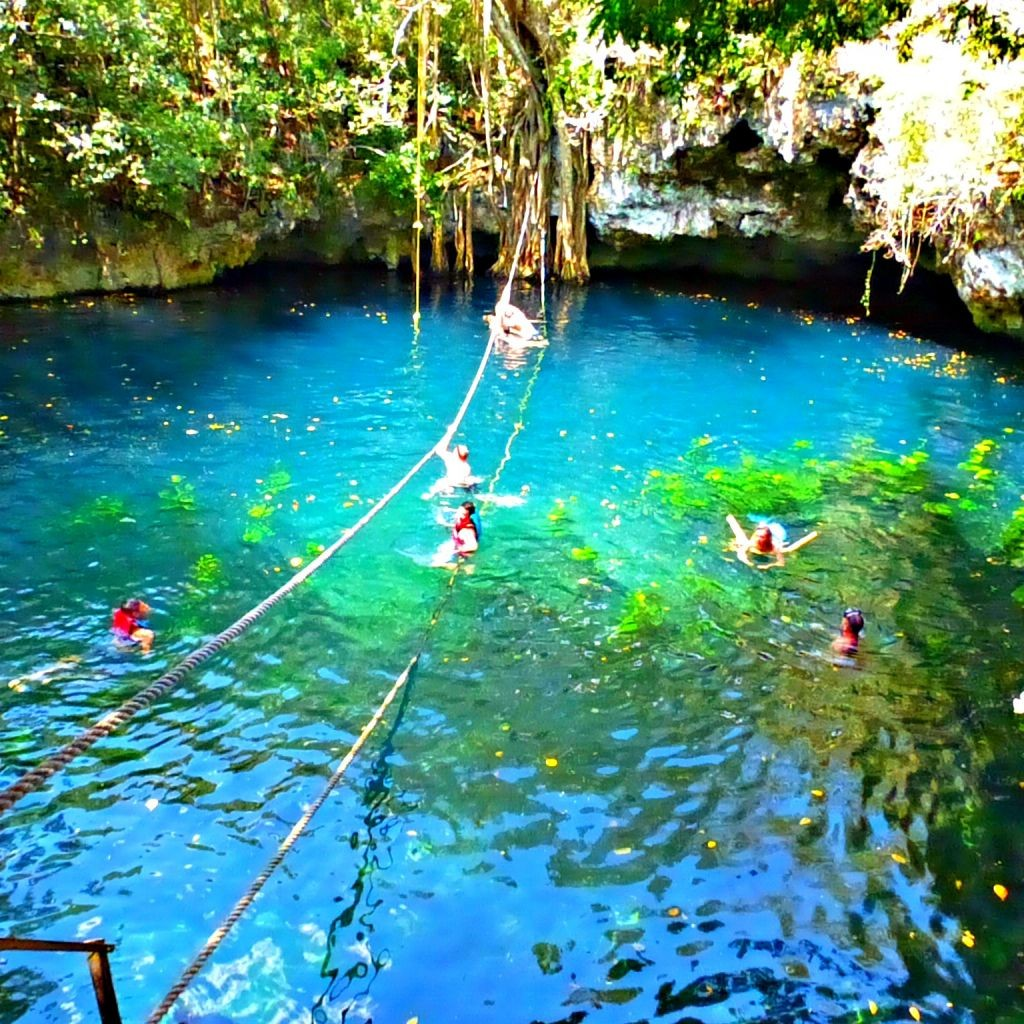 swimming in an underground river - irresistable