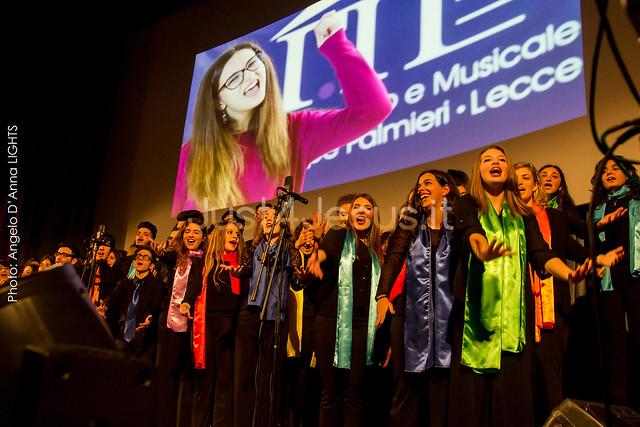 2015 Tyna Maria con il Coro d'Istituto Liceo Classico e Musicale G. Palmieri - Lecce