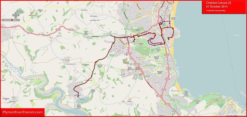 Chelston Leisure Route-25