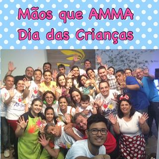Ação Social do dia da Criança - Mãos que AMMA