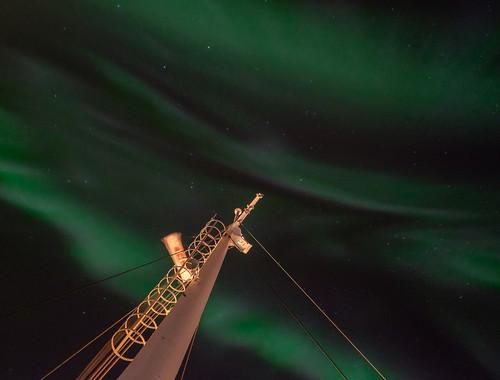 Northern lights, MS Lofoten