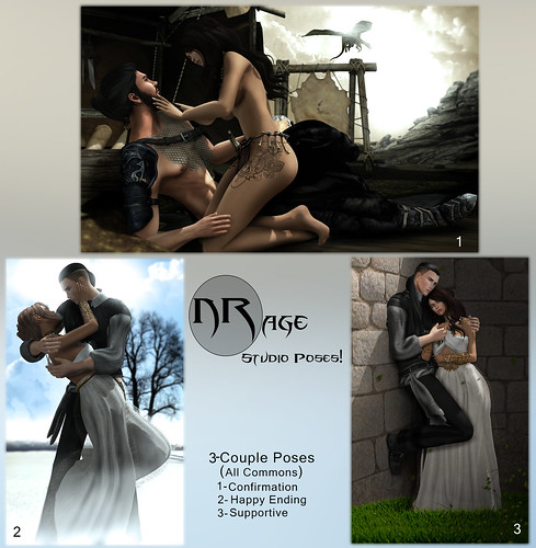 NRage Studio Poses! - Couples - Commons