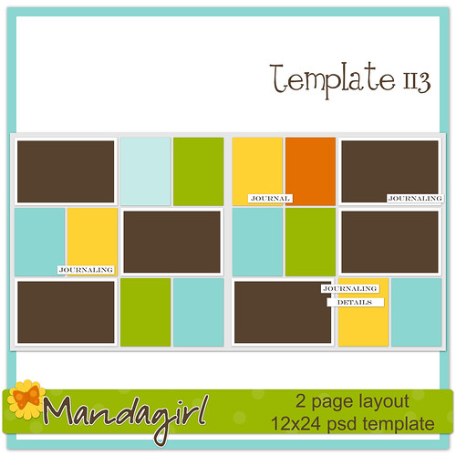 Template 113 Preview -Mandagirl