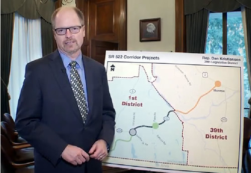 Rep. Dan Kristiansen explains history of unfinished portion of Highway 522