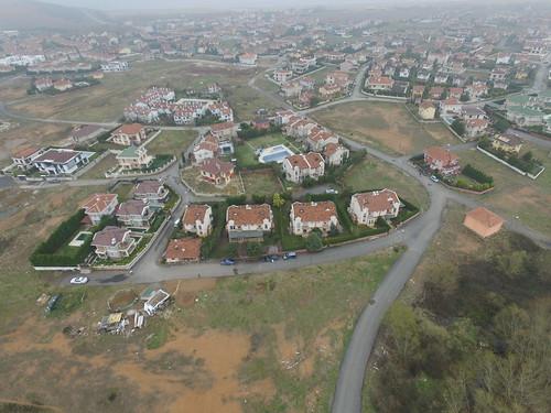 Şile 100 m-es magasságból