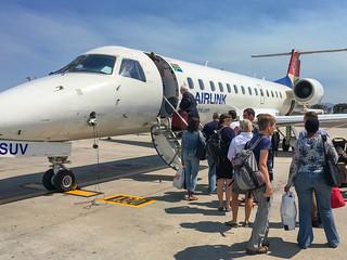 Boarding Flughafen Kapstadt